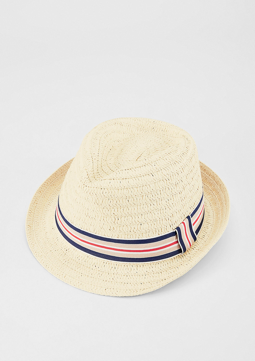 933d38a80 Buy Lightweight paper hat with a contrast band | s.Oliver shop