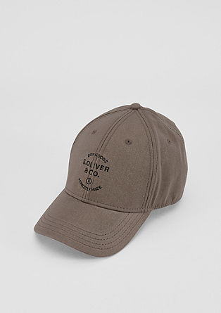 Cotton twill cap from s.Oliver