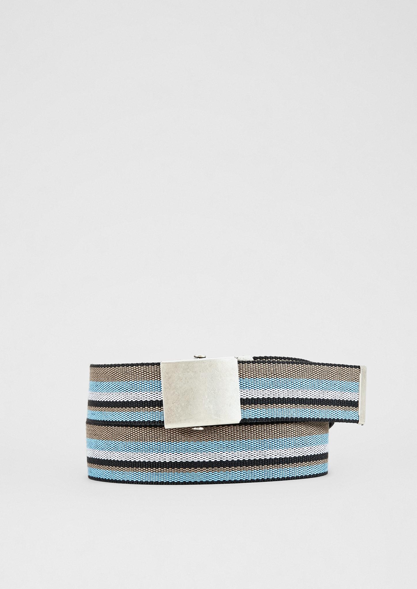 Gürtel | Accessoires > Gürtel > Sonstige Gürtel | Blau/grün | 80% polyester -  20% viskose | s.Oliver