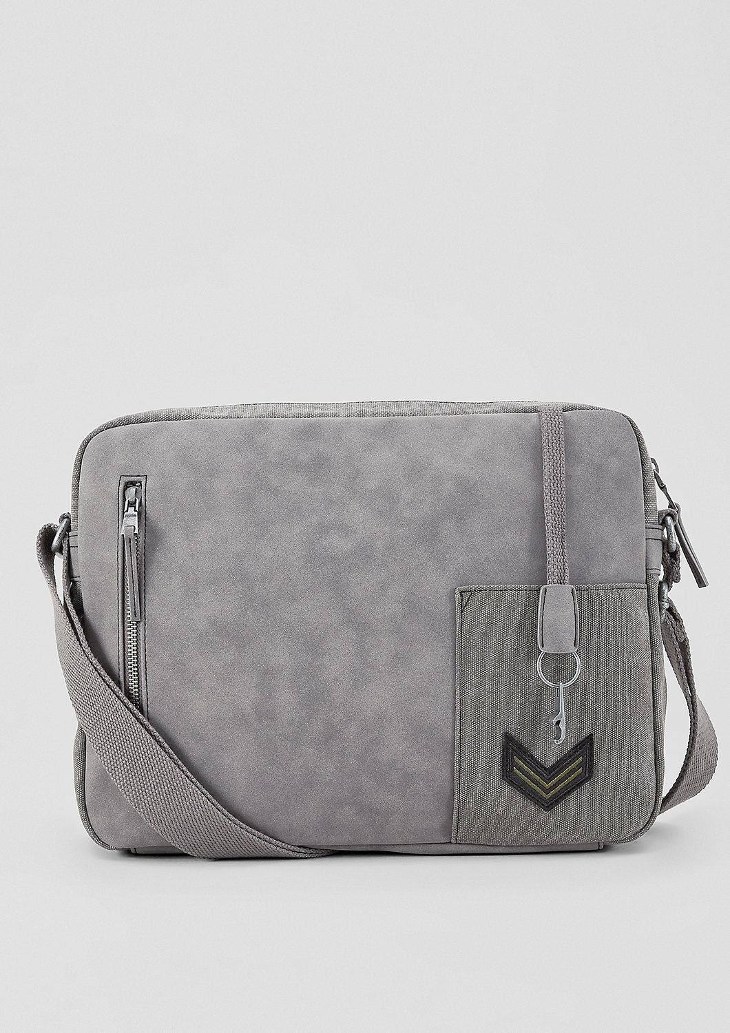 reputable site 9f1fb 3a11f Buy Small, mixed material messenger bag | s.Oliver shop