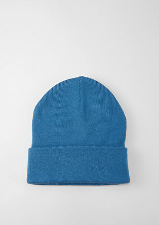 Casual rib knit beanie from s.Oliver