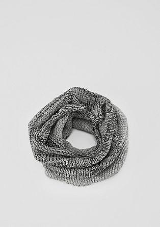 Colsjaal van zachte knitwear