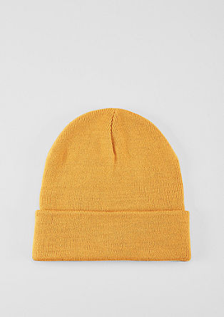 Rib knit beanie from s.Oliver
