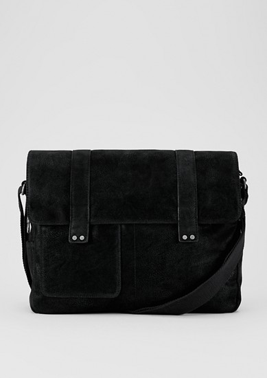 Faux suede messenger bag from s.Oliver
