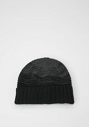 Mütze mit Farbverlauf