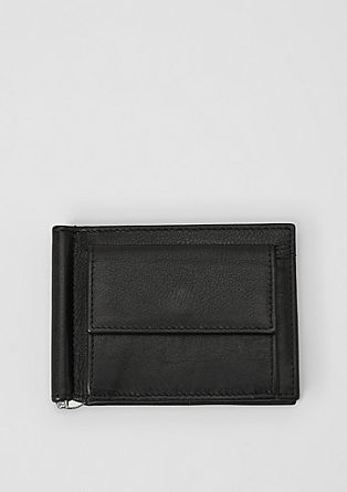 Mini genuine leather wallet from s.Oliver