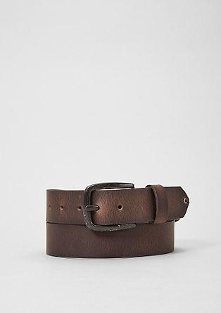 Ledergürtel im Vintage-Style