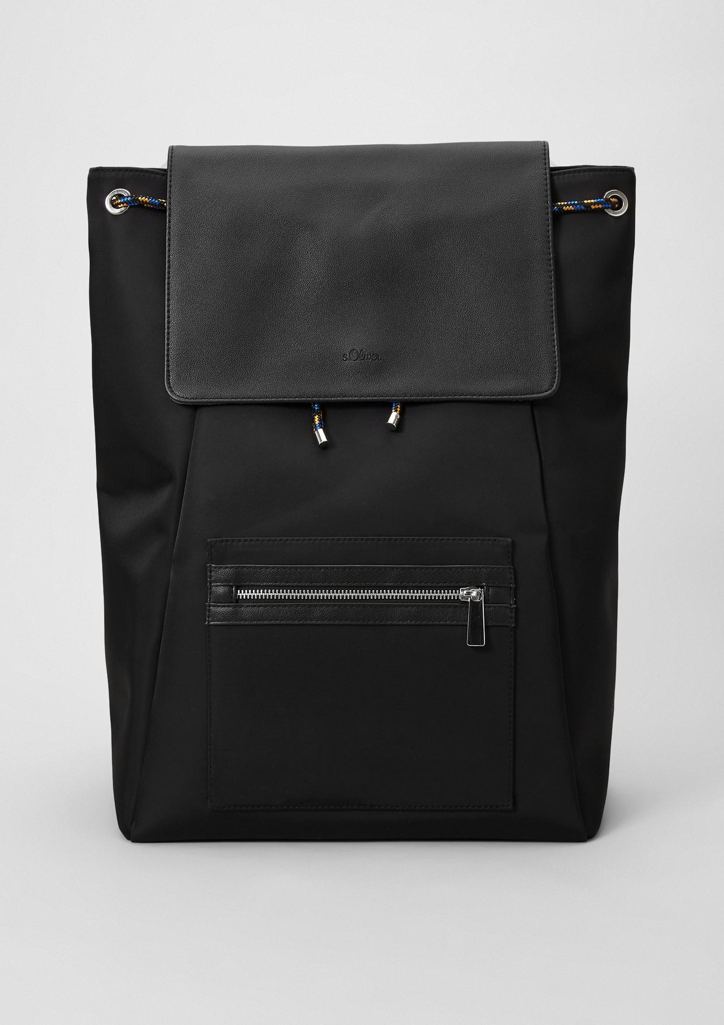 Rucksack   Taschen > Rucksäcke > Sonstige Rucksäcke   Grau/schwarz   Oberstoff: 100% polyamid  futter: 100% polyester   s.Oliver