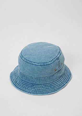 Bucket hat van denim