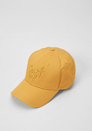 Baseball cap with stitching from s.Oliver