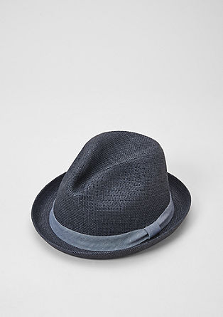 Woven hat in a trilby style from s.Oliver