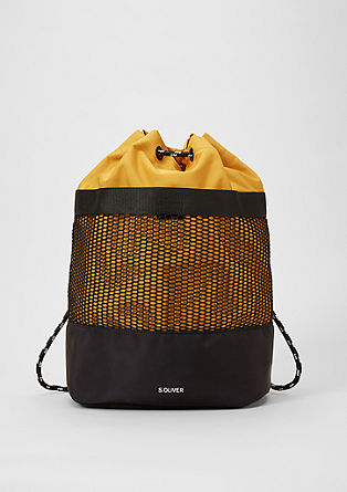 Sporty rucksack with mesh details from s.Oliver