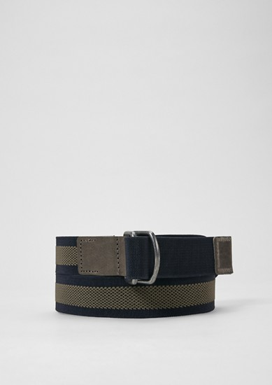 Sporty webbing belt from s.Oliver