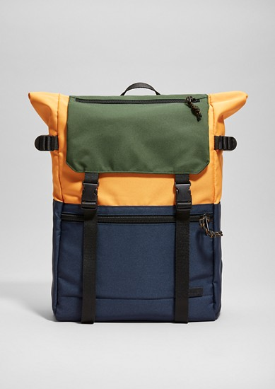 Rucksack with colour blocking   from s.Oliver