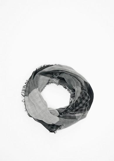 Doubleface-Loop mit Karos