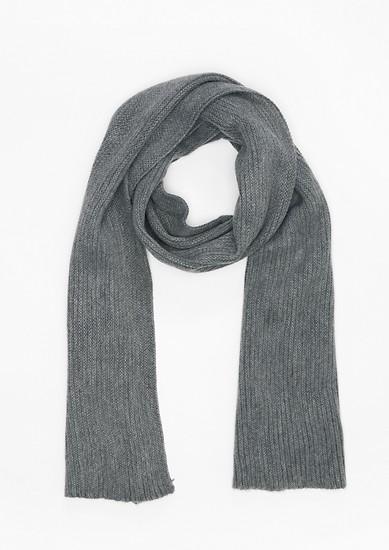 Langer Strukturstrick-Schal