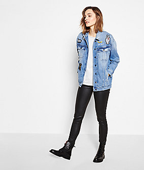 Denim jacket S1176070 from liebeskind
