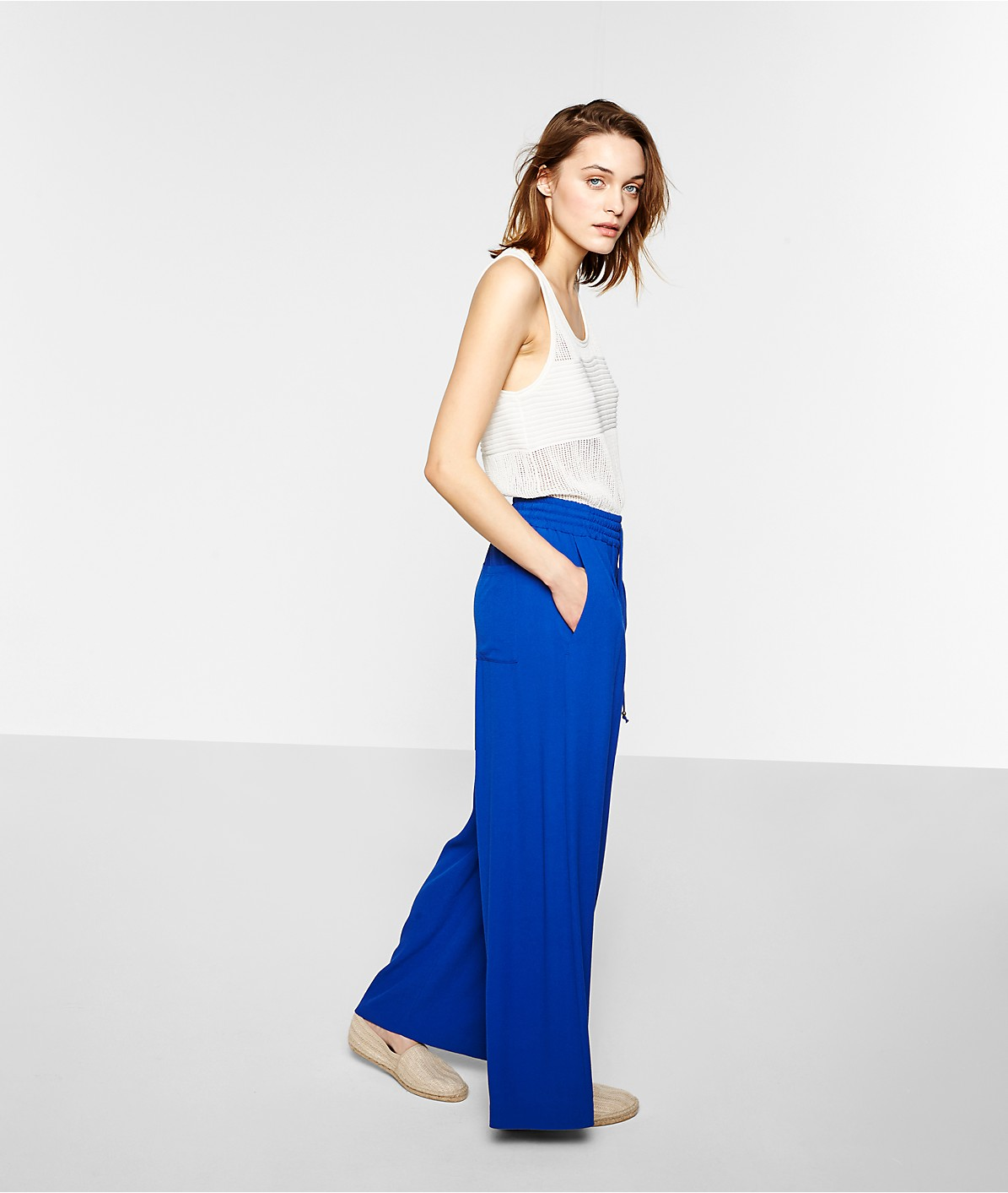 Palazzo trousers S1172240 from liebeskind