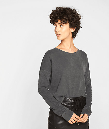 Sweatshirt with studs from liebeskind