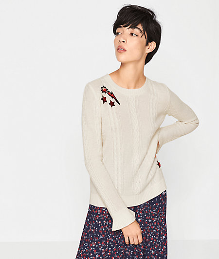 Knit jumper with wool from liebeskind