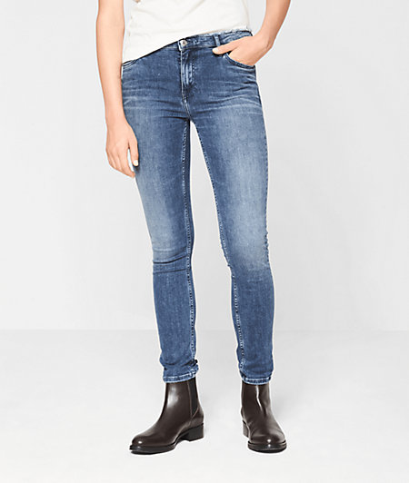 Jeans with frayed hems from liebeskind