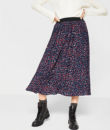 Skirt with a star pattern from liebeskind