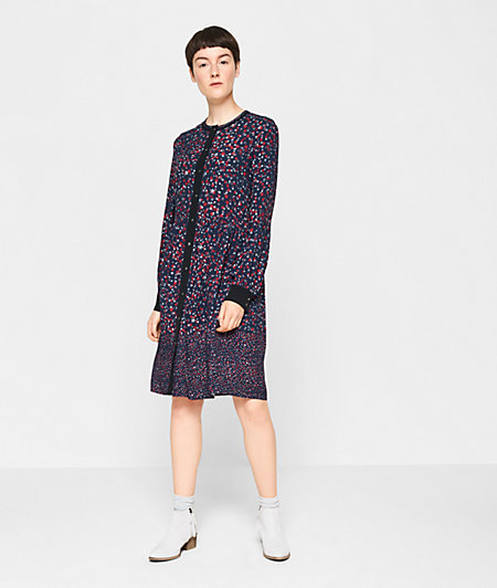 Dress with a star print from liebeskind