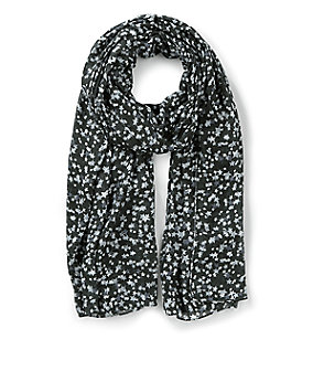 Printed scarf in soft fabric from liebeskind