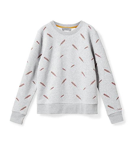 Sweatshirt mit Stitchings