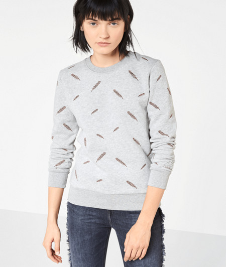 Sweatshirt mit Stitchings