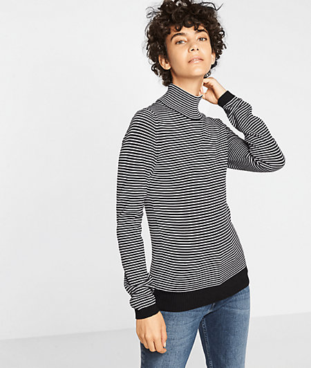 Striped fine knit jumper from liebeskind