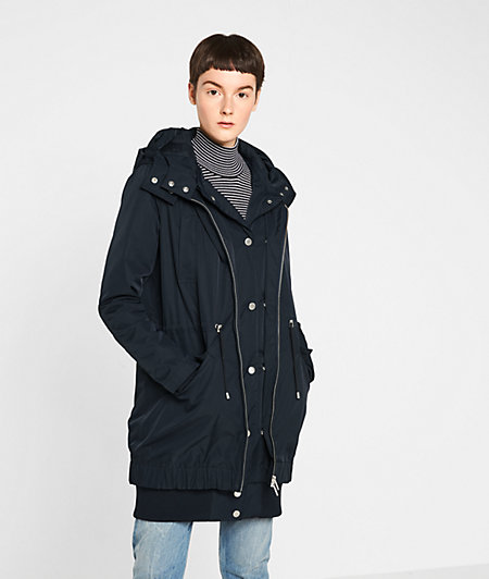 Parka with inlay from liebeskind