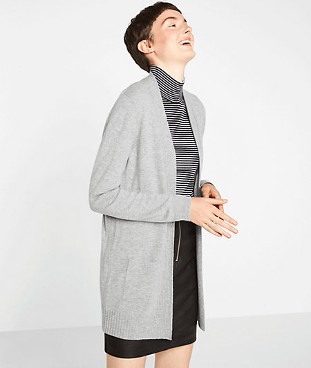 Cardigan with cashmere from liebeskind