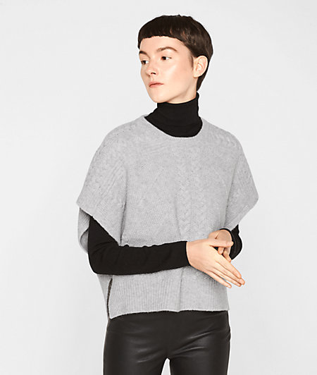 Purl knit short sleeve jumper from liebeskind