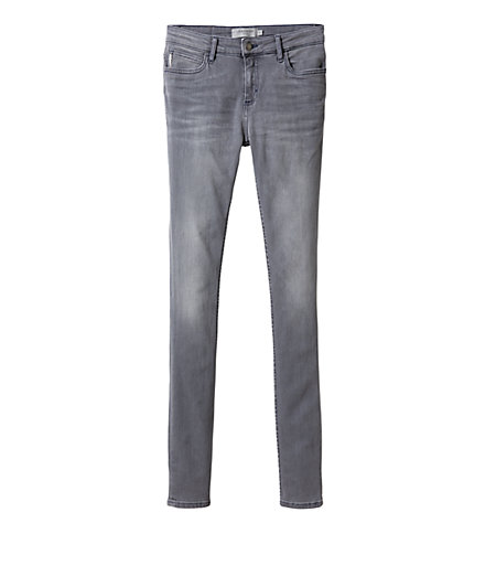 Jeans with a feather charm from liebeskind
