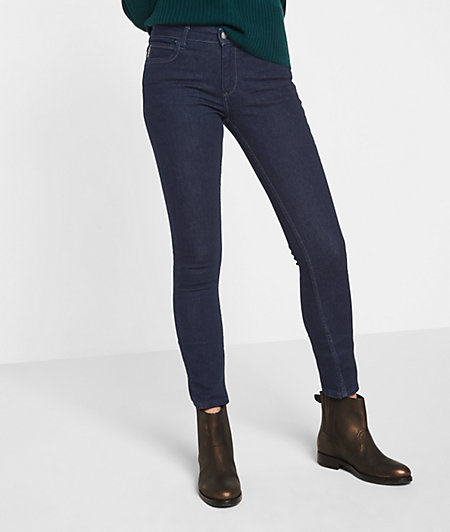 Jeans with pleats for freedom of movement from liebeskind
