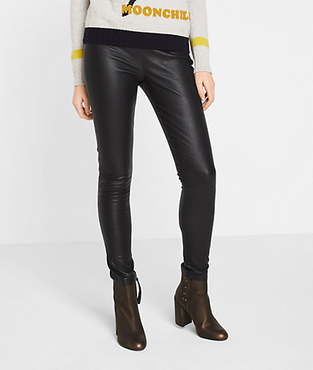 Leather trousers from liebeskind