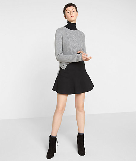 Sweatshirt skirt with a zip from liebeskind