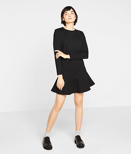 Sweatshirt dress with a zip from liebeskind