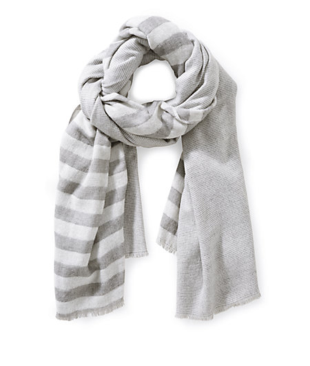 Woven scarf in a mix of patterns from liebeskind