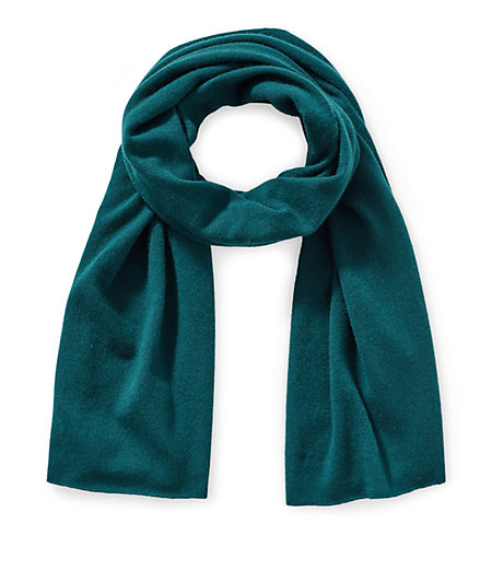 Wool scarf with cashmere from liebeskind