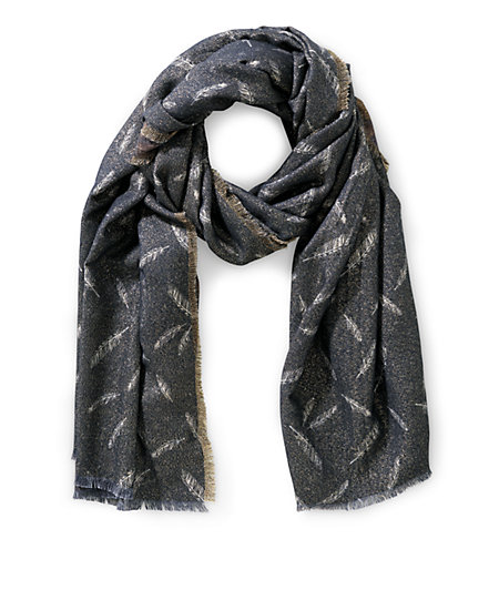 Woven scarf with glitter effects from liebeskind