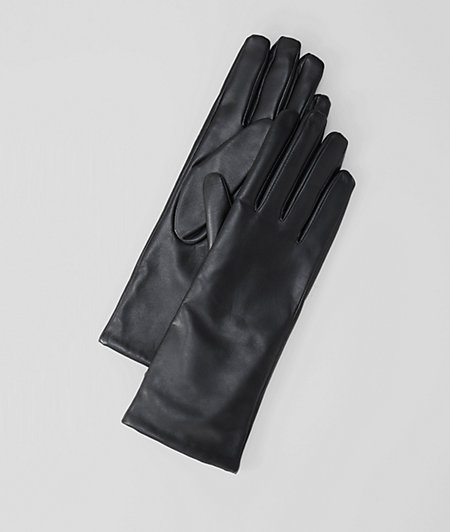 Lamb leather gloves from liebeskind