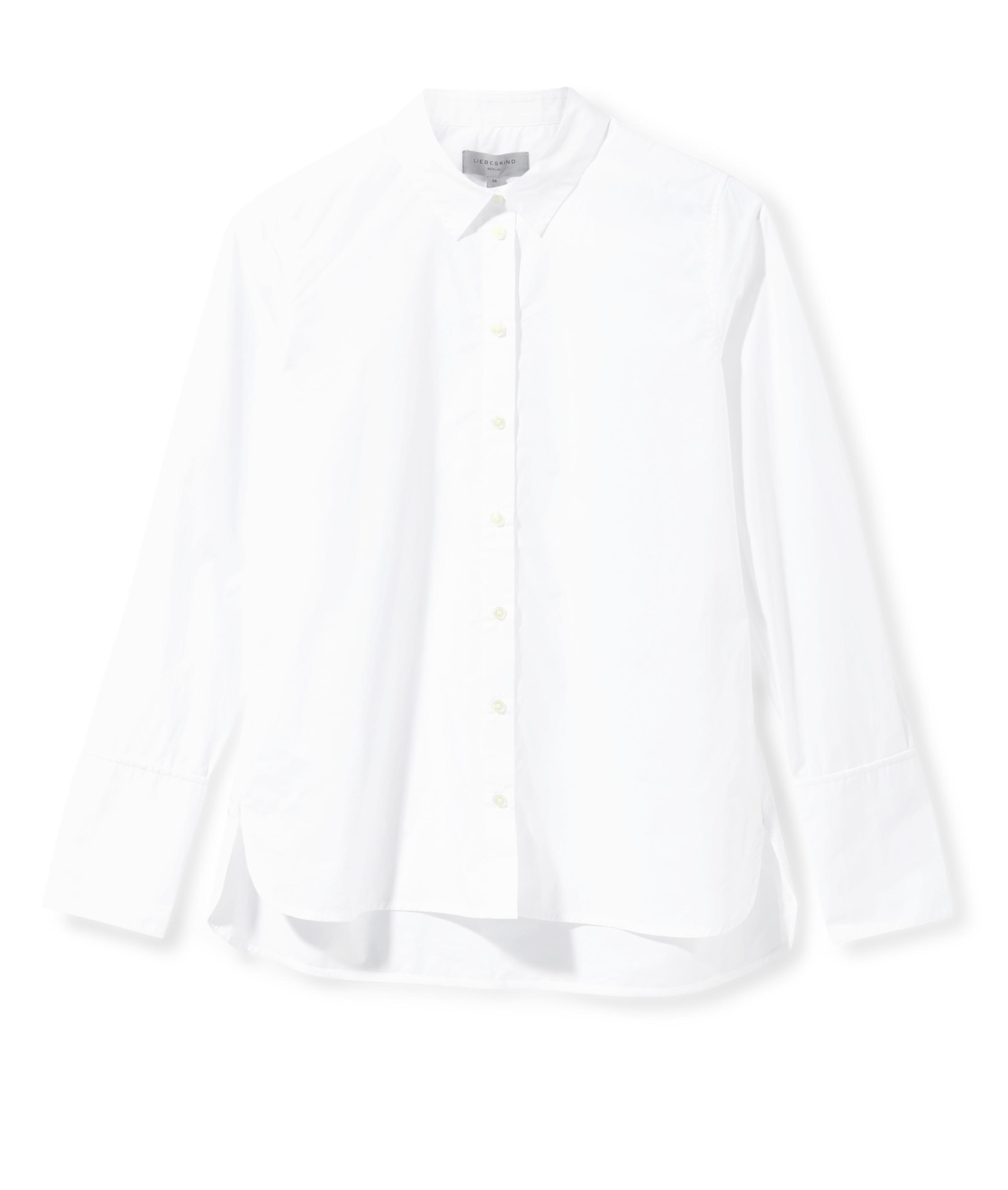 liebeskind berlin - Hemdbluse mit Manschetten, Weiß, Größe 34