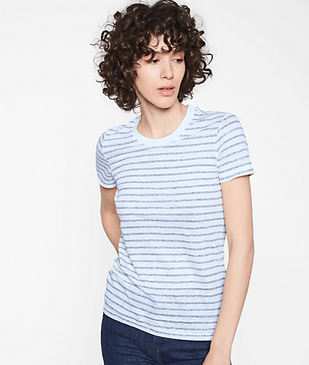 T-shirt with 1/3-length sleeves from liebeskind