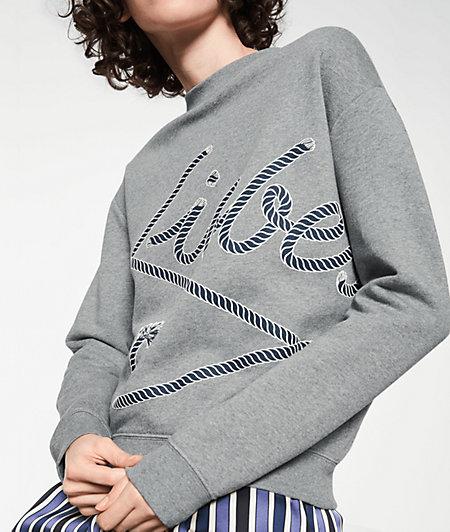 Sweatshirt mit Liebeskind-Schriftzug