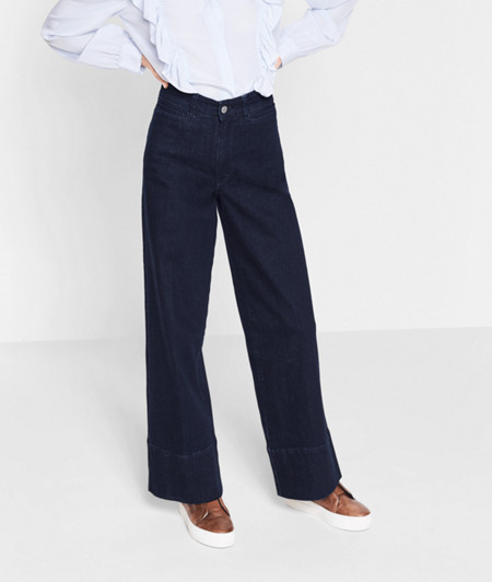 Jeans with a wide, flared leg from liebeskind