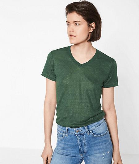 Linen T-shirt from liebeskind
