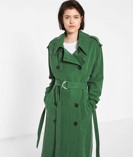 Coat with big buttons from liebeskind