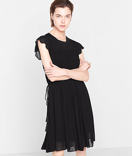 Mix-and-match short sleeve dress from liebeskind